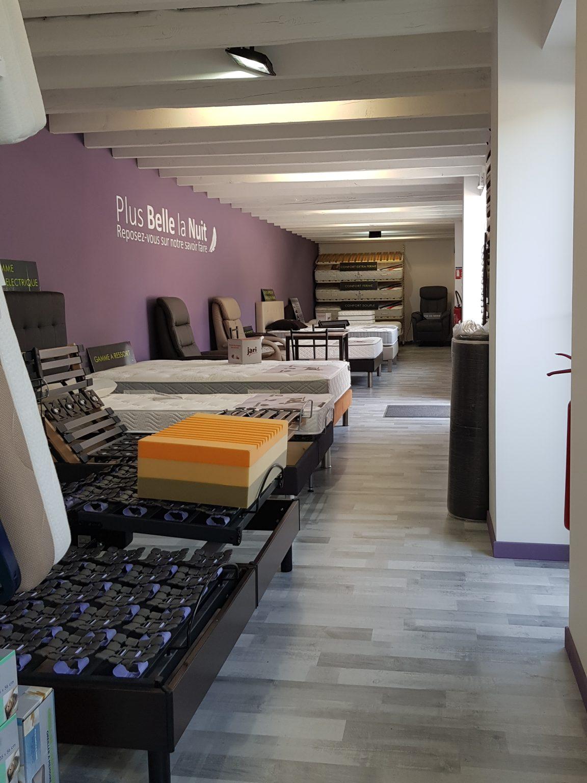 plus belle la nuit magasin de literie arinthod matelas. Black Bedroom Furniture Sets. Home Design Ideas